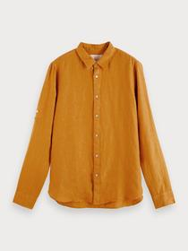 REGULAR FIT - Shirt with sleeve roll-up