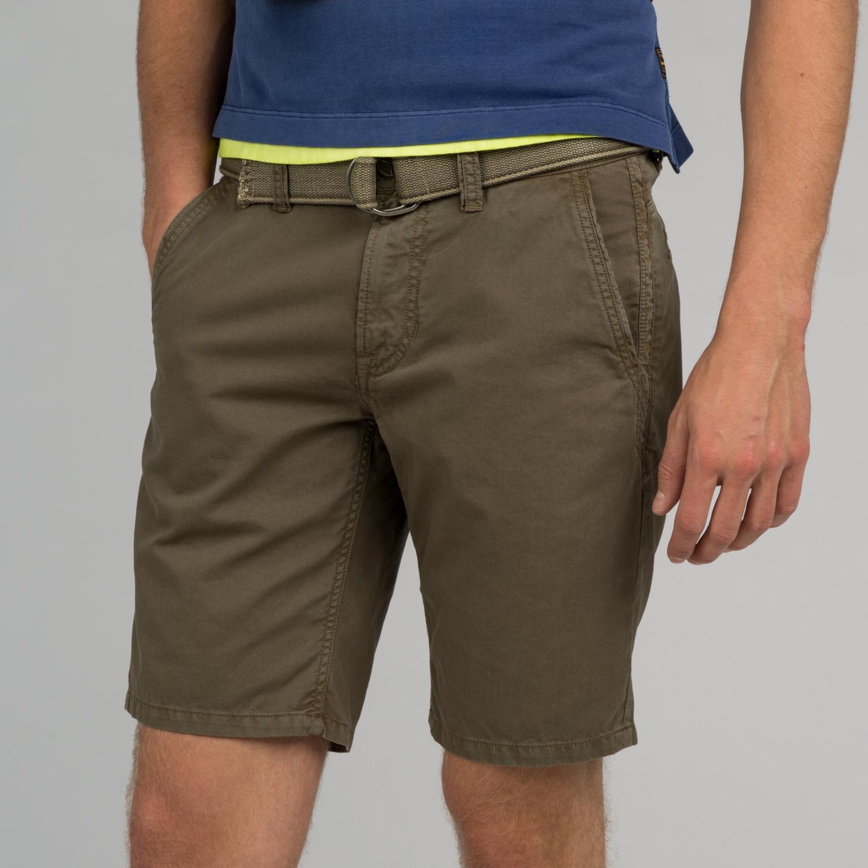 Cotton Linen Dobby Chino Short