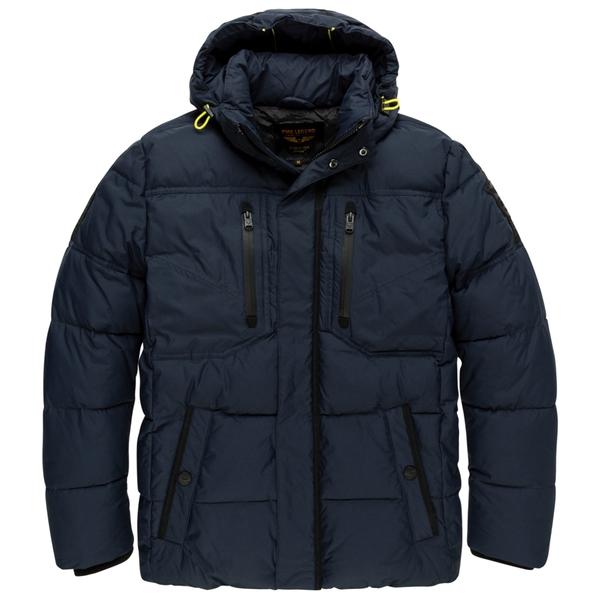Hooded jacket Recycled Nylon SNOWB - 5287/Dark Sap