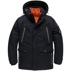 Hooded jacket COURSE TWILL + WIBER