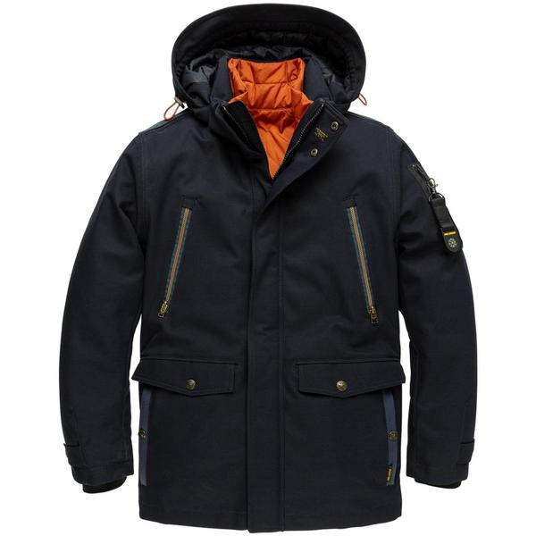Hooded Jacket Course Twill Wiber
