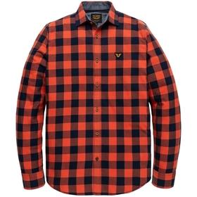 Long Sleeve Shirt Twill Check