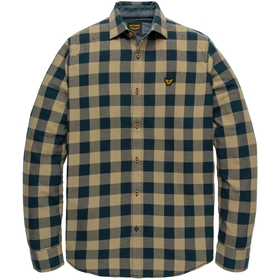 Long Sleeve Shirt Twill Check