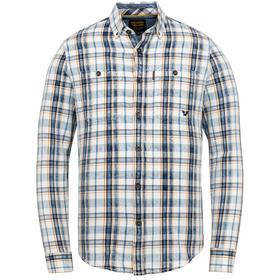 Long Sleeve Shirt Denim Check Fab