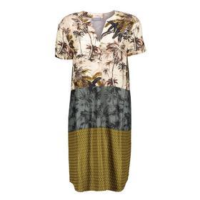 Dress combi prints s/s