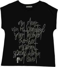 T-shirt text s/s
