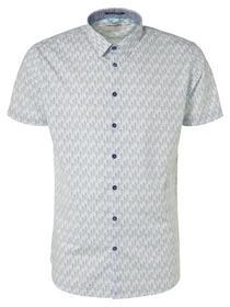 Shirt, s/sl, ao building print, str