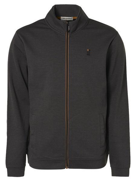 Sweater Full Zip Double Face Melang