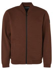 Sweater Full Zip Jacquard