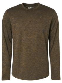 T-Shirt Crewneck Long Sleeve Stretc
