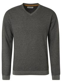 Pullover V-Neck Plated