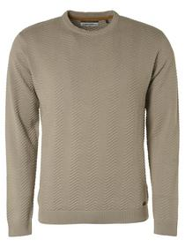 Pullover Crewneck Zigzag Organic