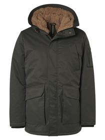 Jacket Long Fit Hooded Parka Teddy Lining