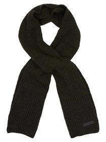Scarf Solid rib knit