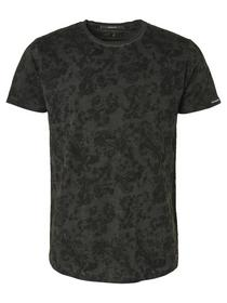 T-shirt Short Sleeve Crewneck All Over Printed