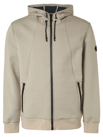 Sweater Hood Full Zipper Double Fabric