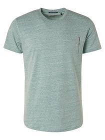 T-Shirt Crewneck Melange Recycle Cotton