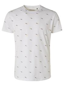 T-Shirt Crewneck Allover Printed