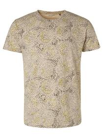 T-Shirt Crewneck Allover Printed Sl