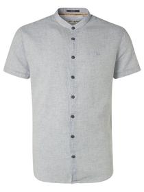 Shirt Short Sleeve Granddad 3 Coloured with Linen