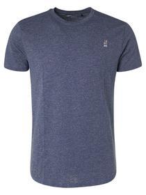 T-Shirt Crewneck 2 Coloured Melange Organic
