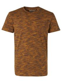 T-Shirt Crewneck Multi Coloured Yarn Dyed Melange