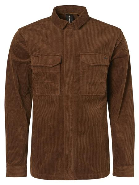 Overshirt Button Closure Corduroy Stretch