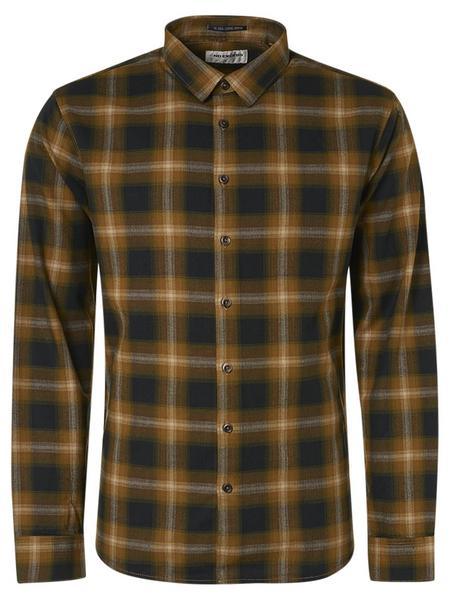 Shirt Flannel Check Herringbone Responsible Choice