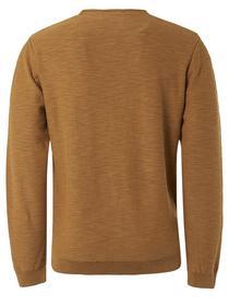 Pullover Crewneck Slub Garment Dyed + Stone Washed