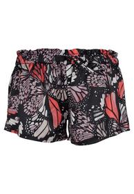 Da. Shorts - 1404/black neon butterfly