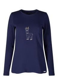 Da. Shirt lg. A. - 2271/maritime blue