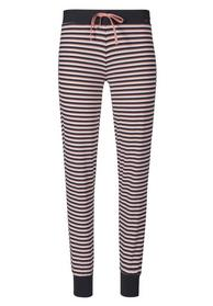 Da. Hose lg. - 2331/rose black stripe