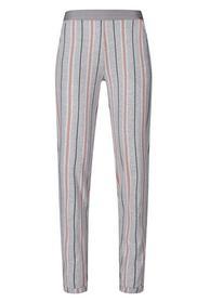 Da. Hose lg. - 2312/grey melange stripe