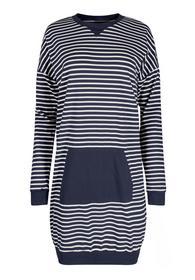 Da. Sleepshirt lg. A. - 5428/spaceblue stripe