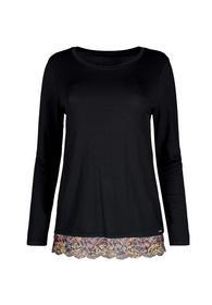 Da. Shirt lg. A. - 7665/black