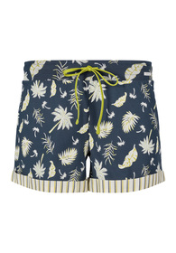 Da. Shorts - 5625/midnight palm leaves