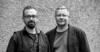 Schwarzweiß Foto von Florian Sochatzy und Marcus Ventzke