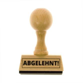 Holzstempel Danke schön Stempel Bürostempel Dankeschön Herz niedlich höflich