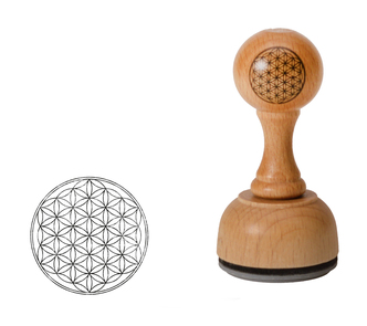 Holzstempel Yin und Yang Stempel Yin /& Yang Bürostempel China Philosophie