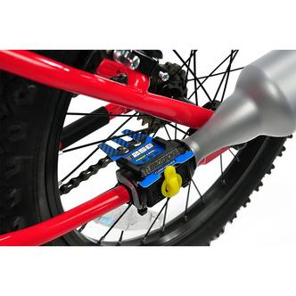 auspuff turbospoke v2 f r motorrad sound auf dem fahrrad. Black Bedroom Furniture Sets. Home Design Ideas