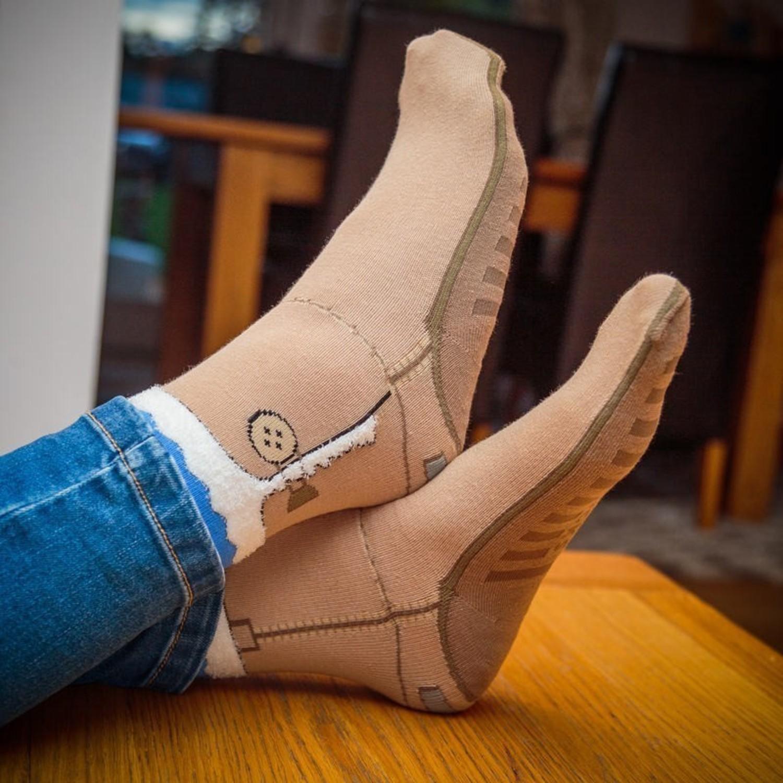 lustige socken motivsocken sandalen sneaker witzige. Black Bedroom Furniture Sets. Home Design Ideas