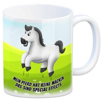 Mein Pferd hat keine Macken das sind Special Metallschild weißes Pferde