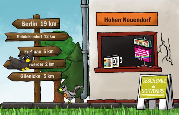 Geschenke Laden Hohen Neuendorf