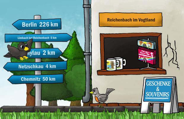 Geschenke Laden Reichenbach im Vogtland