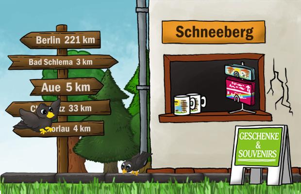 Geschenke Laden Schneeberg