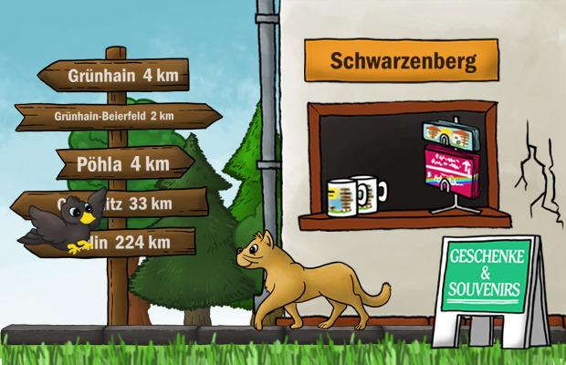 Geschenke Laden Schwarzenberg