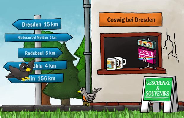 Geschenke Laden Coswig bei Dresden