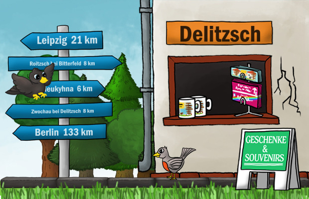 Geschenke Laden Delitzsch