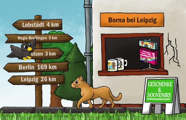 Geschenke Laden Borna bei Leipzig