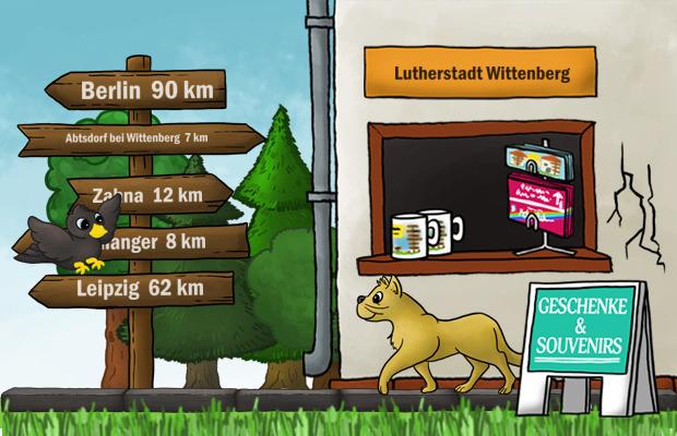 Geschenke Laden Lutherstadt Wittenberg